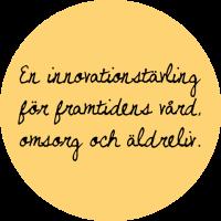 En innovationstävling för framtidens vård, omsorg och äldreliv.